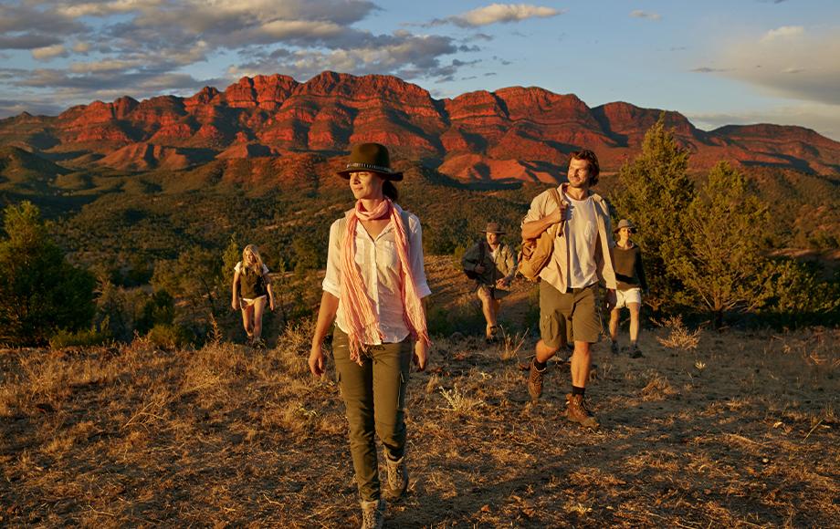 The Arkaba Walk Flinders Ranges