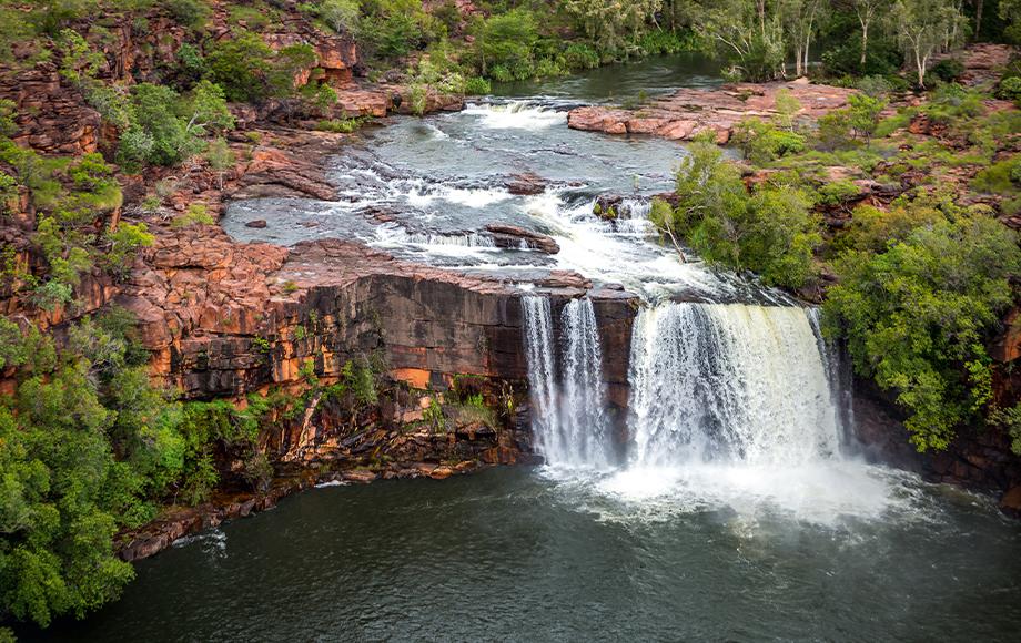 Waterfall near Victoria River and Bullo River
