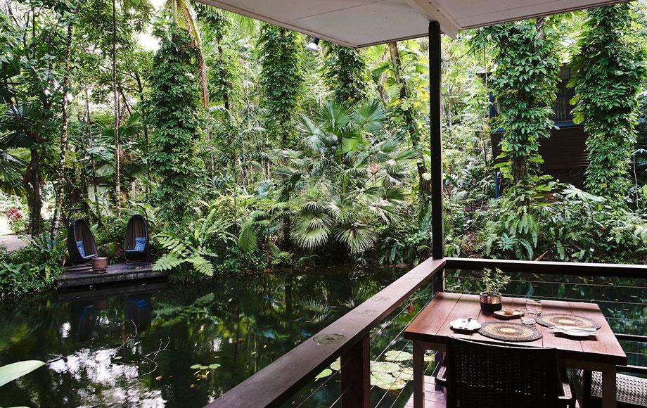 Daintree Eco Lodge Restaurant Area
