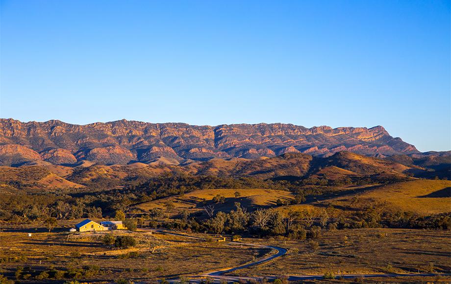 Arkaba Station in the Flinders Ranges South Australia