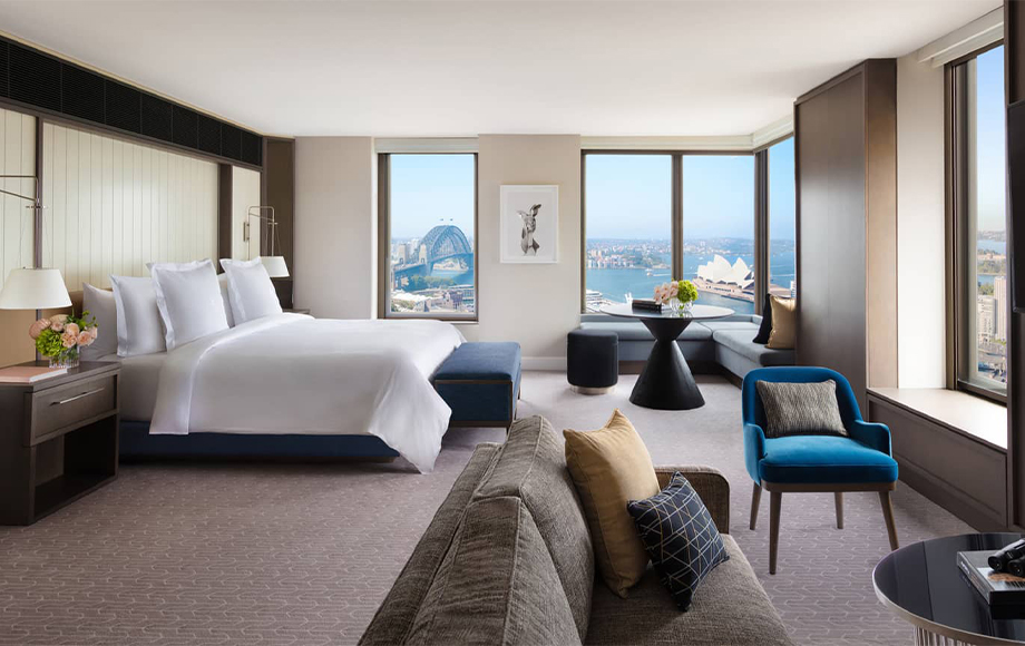 Four Seasons Sydney Full Harbour Room