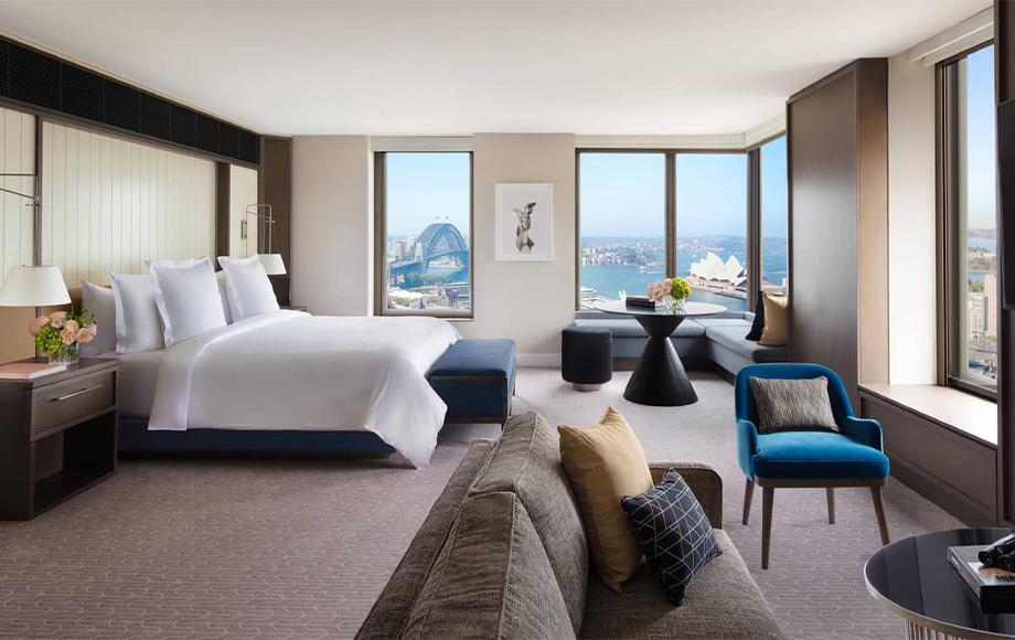 Four Seasons Sydney Full Harbour Room