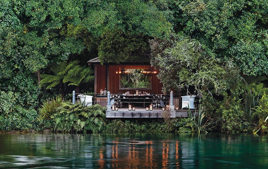 Huka Lodge Jetty Pavilion
