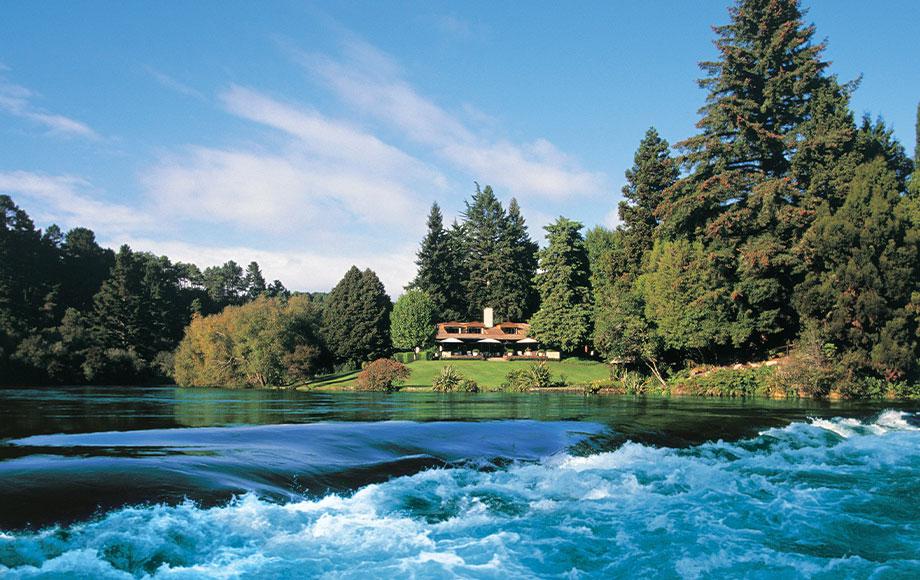 Huka Lodge in New Zealand