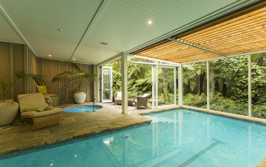 The Lodge at Kauri Cliffs pool