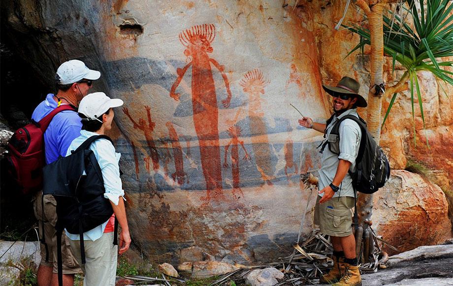 Rock art in Arnhemland