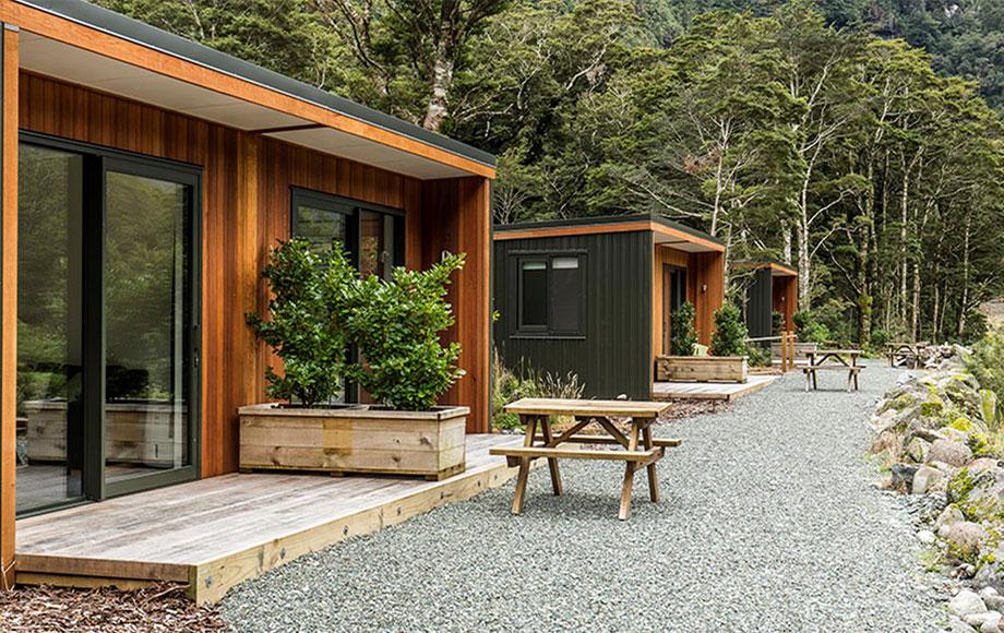 Milford Sound Lodge Mountain View