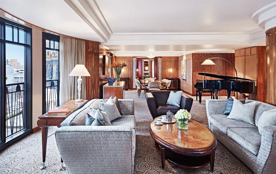 Park Hyatt Melbourne lounge