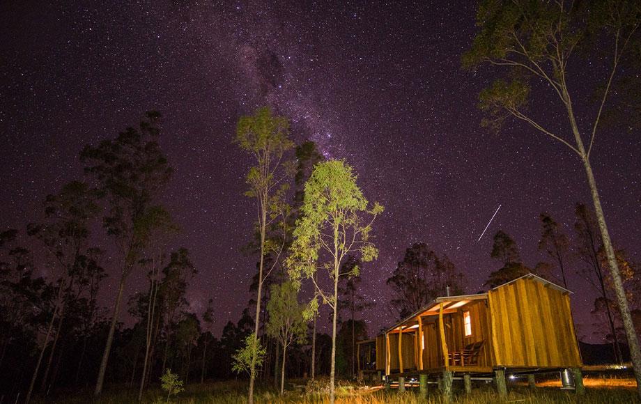 Spicers Hidden Peak Cabin at Scenic Rim Trail